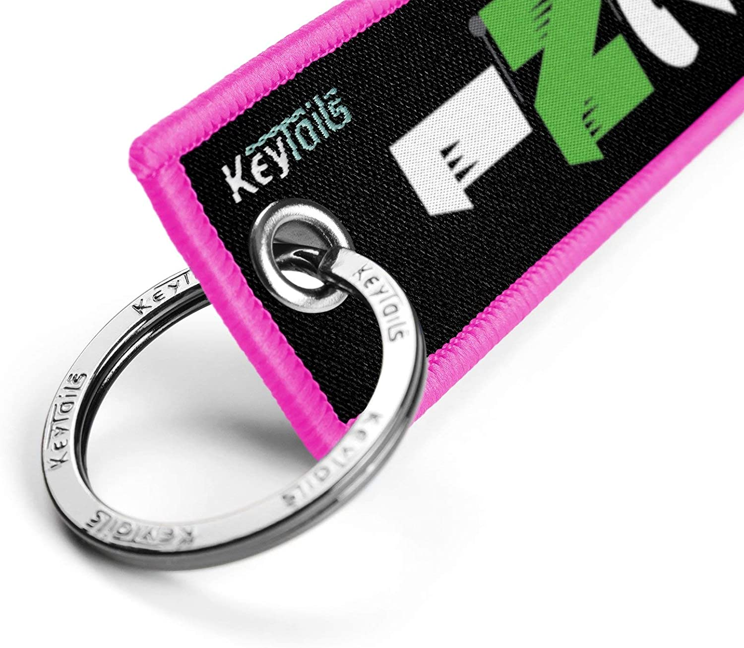 1 Down 5 Up - 65432N1 Sportbike KEYTAILS Keychains Premium Quality Key Tag for Motorcycle