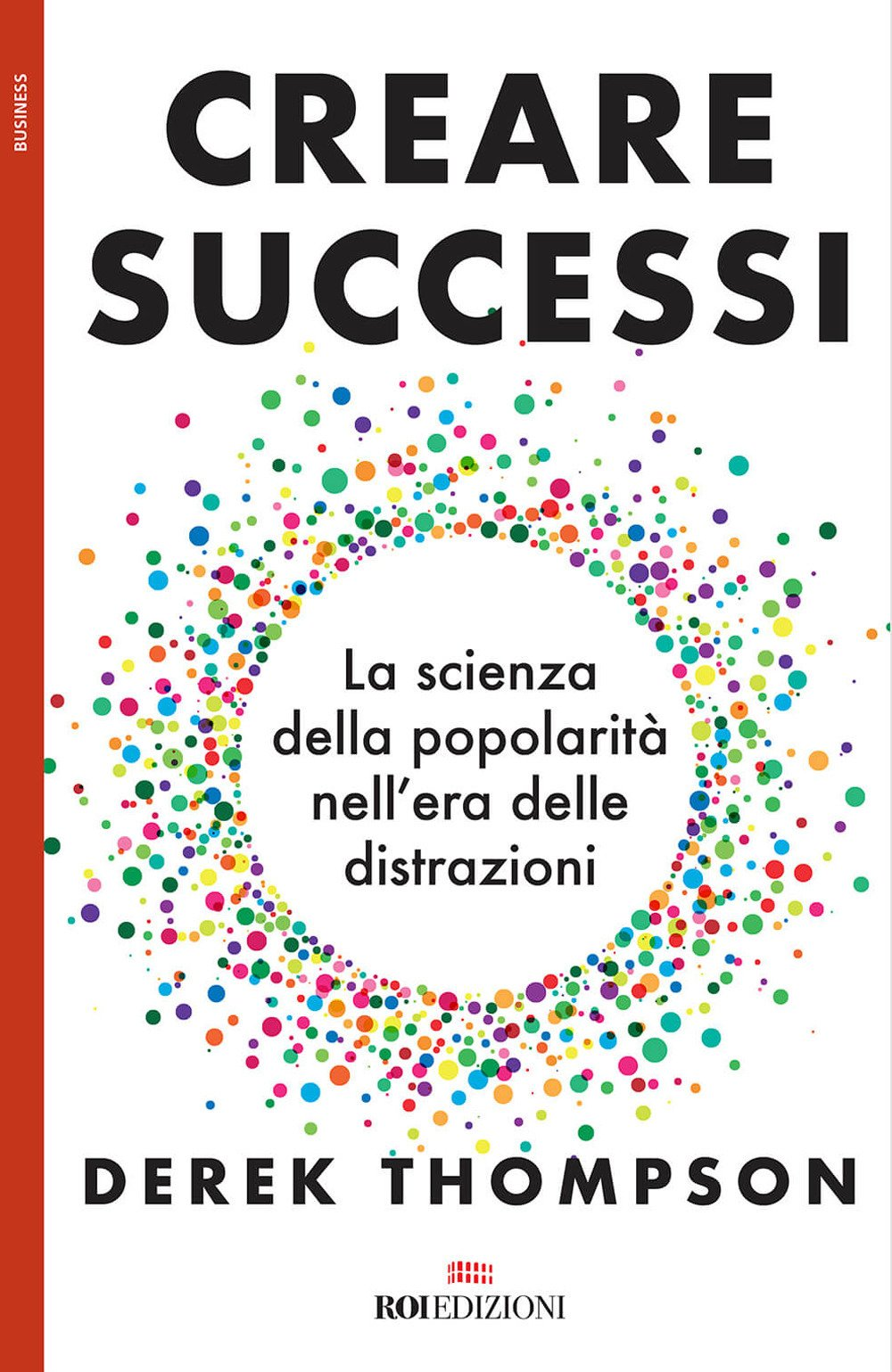 Copertina Libro Creare successi