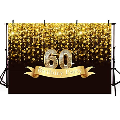 COMOPHOTO 7x5ft Glitter Silver Backdrop for Birthday Party Grey Balloons Silver Black Photo Booth Background Decorations Women Man Adult Bday Party Dessert Table Banner