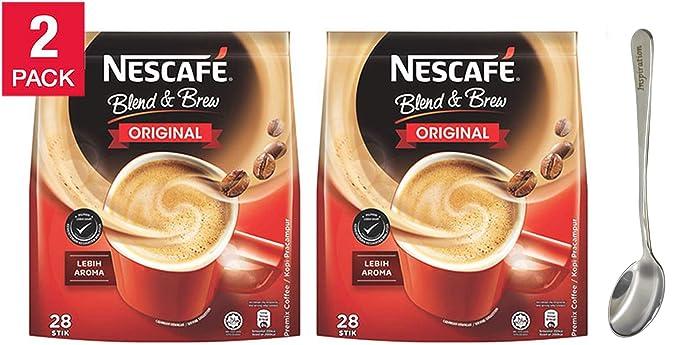 Nescafé 3 en 1 Mezcla & Brew Original Instant Coffee Sticks ...