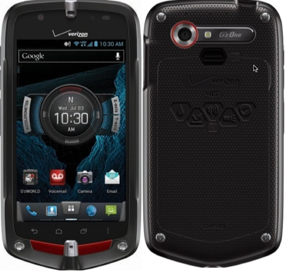 Casio G'zOne Commando 4G LTE C811 Verizon Android Rugged Android Smart Phone (Latest Model) by Casio (Image #1)