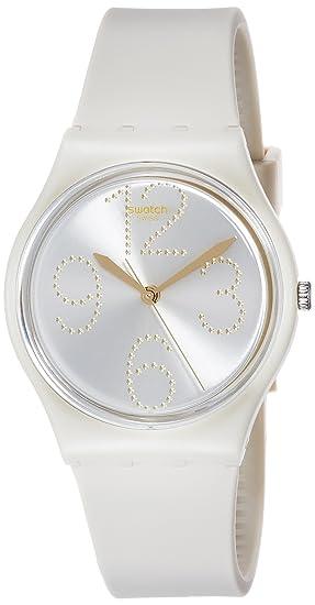 Swatch Reloj Digital para Mujer de Cuarzo con Correa en Silicona GT107: Amazon.es: Relojes