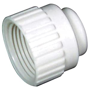 "Flair-It 16860 Plastic Cap Fitting, 0.5"" Size"