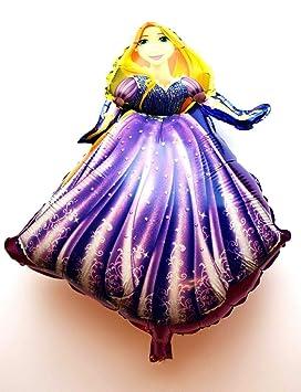 SauParty 10x R49F12 XL Helio Globos Prinzessin Rapunzel ...