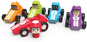 Learning Resources Speedy Shapes Racers, Classic Roadster, Educational Toys, Ages 2+