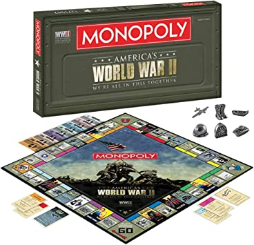 Monopoly World War II - We Are All In This Together by Hasbro: Amazon.es: Juguetes y juegos