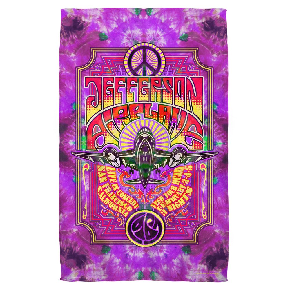 Jefferson Airplane Live in Concert Beach Towel