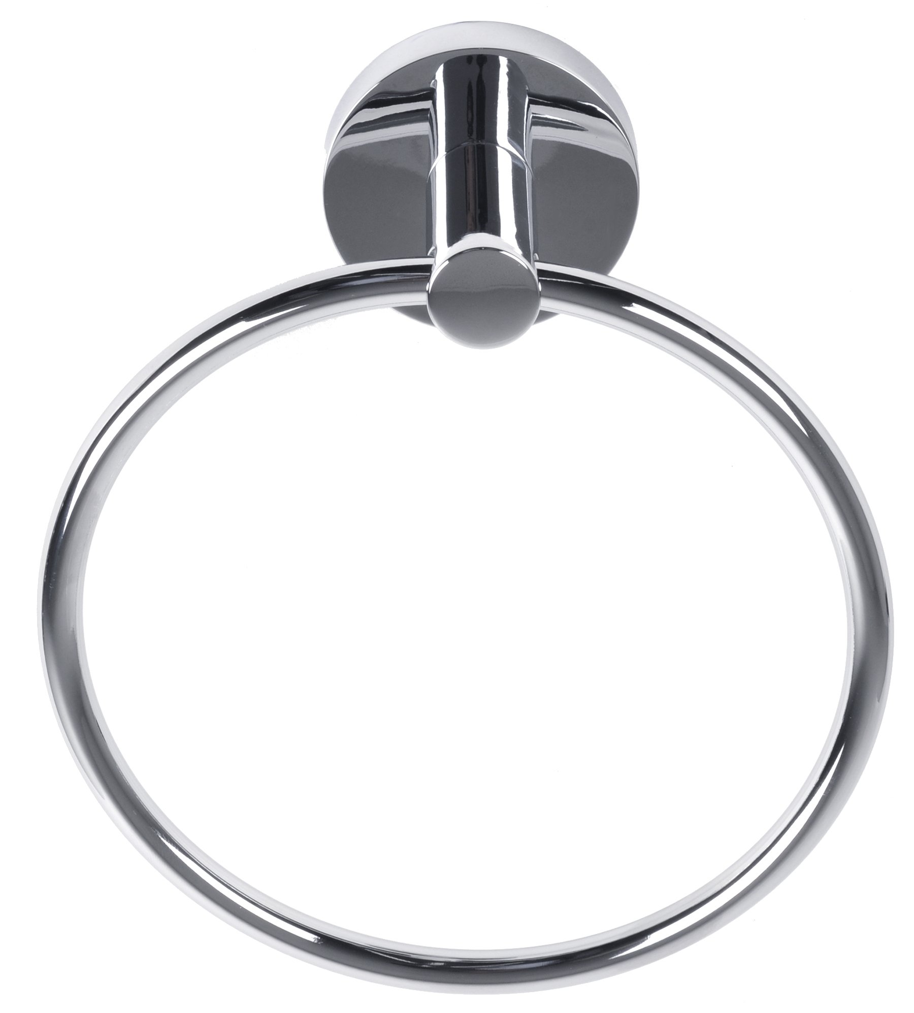 Better Home Products Skyline Towel Ring, Chrome