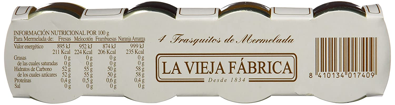La Vieja Fábrica - Mermelada Surtido, 24 frascos