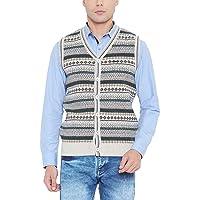 Duke Solid Grey Coloured Men Wool Sweater