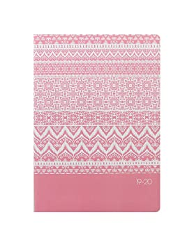 Letts Ikat 2019-2020 - Agenda semanal, color coral: Amazon ...