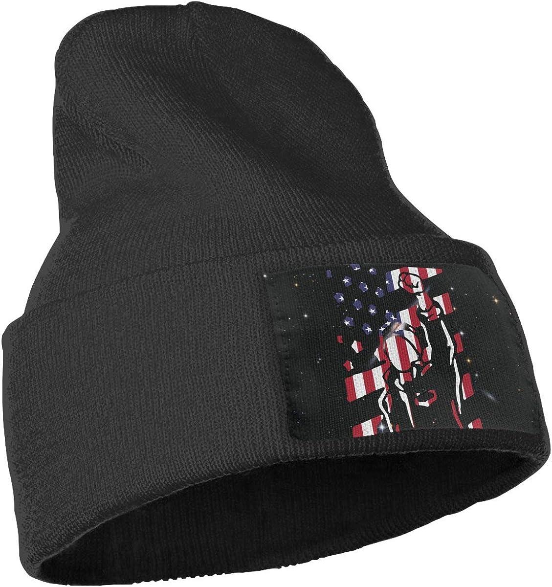 Patriotic USA Flag1 Skull Cap Men Women Knitting Hats Stretchy /& Soft Beanie