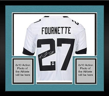 af232f172 Framed Leonard Fournette Jacksonville Jaguars Autographed White Nike  Limited Jersey - Fanatics Authentic Certified