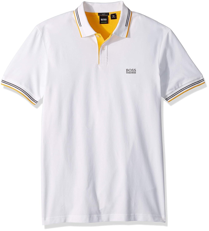 53ec40a3 Amazon.com: Hugo Boss Men's Paul Modern Essential Polo: Clothing