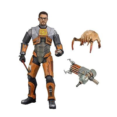 "NECA - Half-Life 2 - 7"" Scale Action Figure - Dr. Gordon Freeman: Toys & Games"
