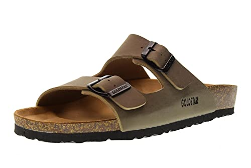 GOLDSTAR Zapatos Hombres Zapatillas 9900 Tortora Talla 44 Tórtola: Amazon.es: Zapatos y complementos