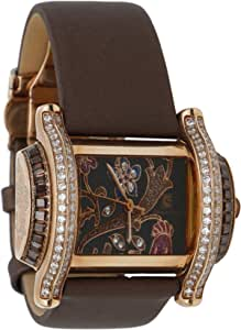 Christian Geen Analog Watch For Women - Leather, Brown - 9042Llsw-Bk