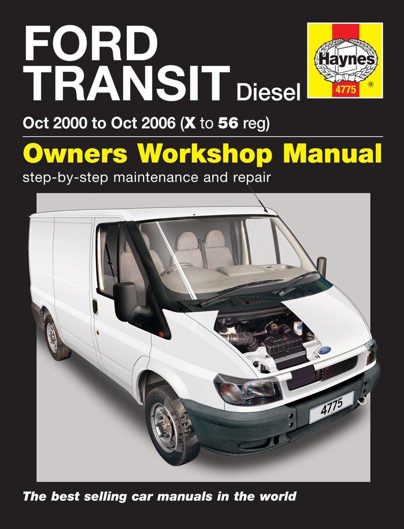 HAYNES FORD TRANSIT DIESEL (OCT 00 - OCT 06) X TO 56 REG: Amazon.co.uk: Car  & Motorbike