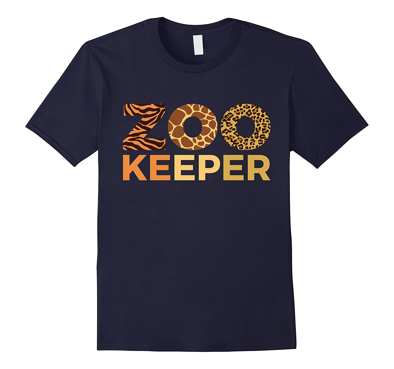 Zoo Keeper Shirt Gift Animal Lover T Shirts Cute Cat Design-Rose