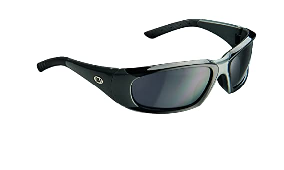 3M 92235-WZ4 ForceFlex Plus Safety Eyewear with Scratch Resistant Lens (4/Case), Frame: Black/Grey & Lens: Grey - - Amazon.com