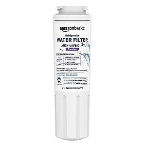 AmazonBasics Replacement Maytag UKF8001 Refrigerator Water Filter Cartridge - Premium Filtration
