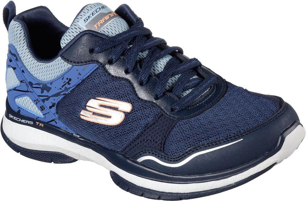 Skechers Burst TR Women's Sneakers B01JKEYFGG 6.5 B(M) US|Navy