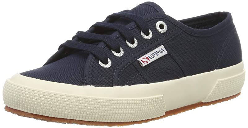 Superga 2750 Cotu Classic Sneakers Low-Top Unisex Damen Herren Dunkelblau