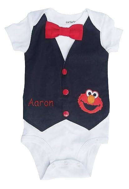 Amazon.com: Luke y Lulu primer cumpleaños bebé Boy traje ...