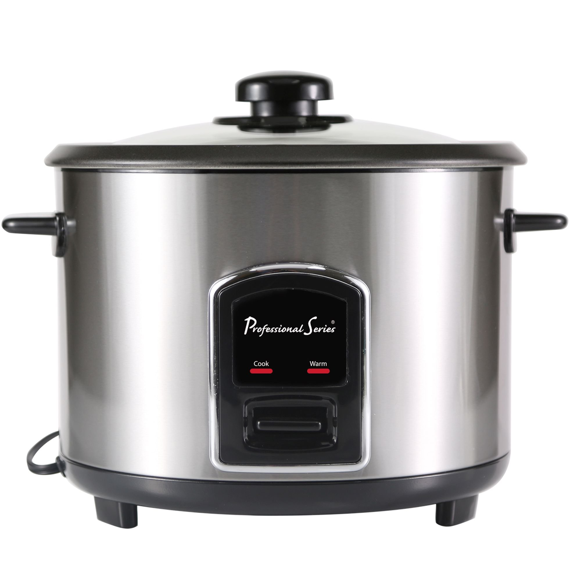 Continental Electric PS75068 Rice Cooker, 6-Cup, Silver