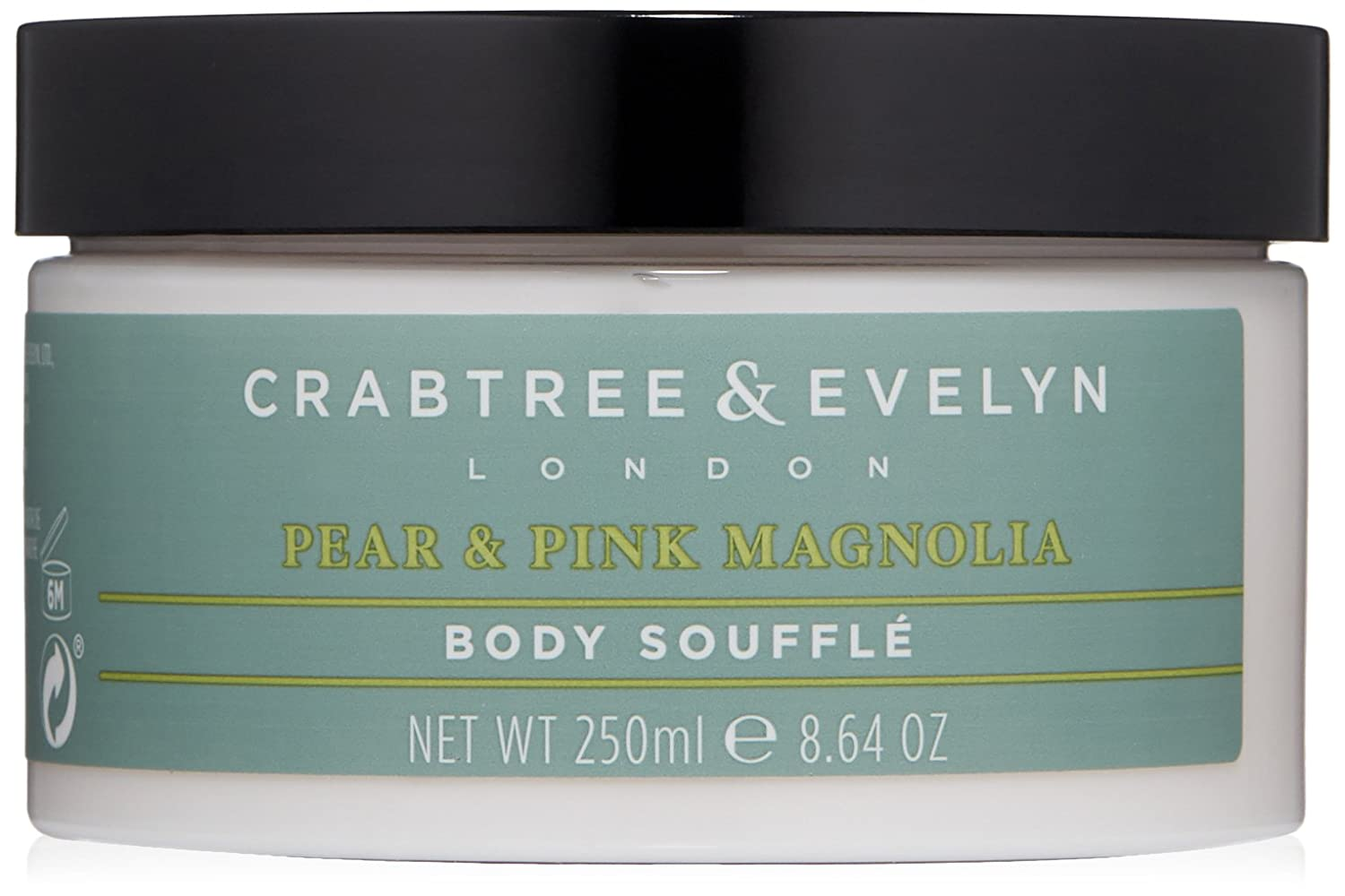 Crabtree & Evelyn Pear and Pink Magnolia Body Souffle, 250 ml 89787