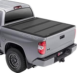 "BAK BAKFlip MX4 Hard Folding Truck Bed Tonneau Cover   448409   Fits 2007-20 Toyota Tundra 5'6"" Bed"