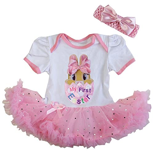 Cinderella Couture Baby Girls Pink Rose Printed Jacquard: Easter Dress For Baby: Amazon.com