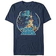 Star Wars Men's Vintage Victory Graphic T-Shirt