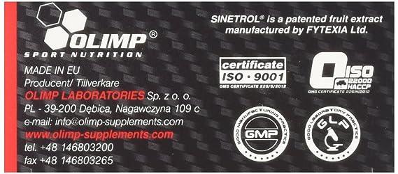 Olimp Sport Nutrition Thermo-Stim Quemador de Grasa - 60 Cápsulas: Amazon.es: Salud y cuidado personal