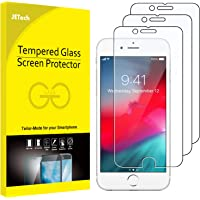 JETech 3-Pack Screen Protector for iPhone 8, iPhone 7, iPhone 6s, and iPhone 6, Tempered Glass Film, 4.7-Inch