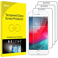 JETech Screen Protector for Apple iPhone 6s and iPhone 6 Tempered Glass Film, 3-Pack