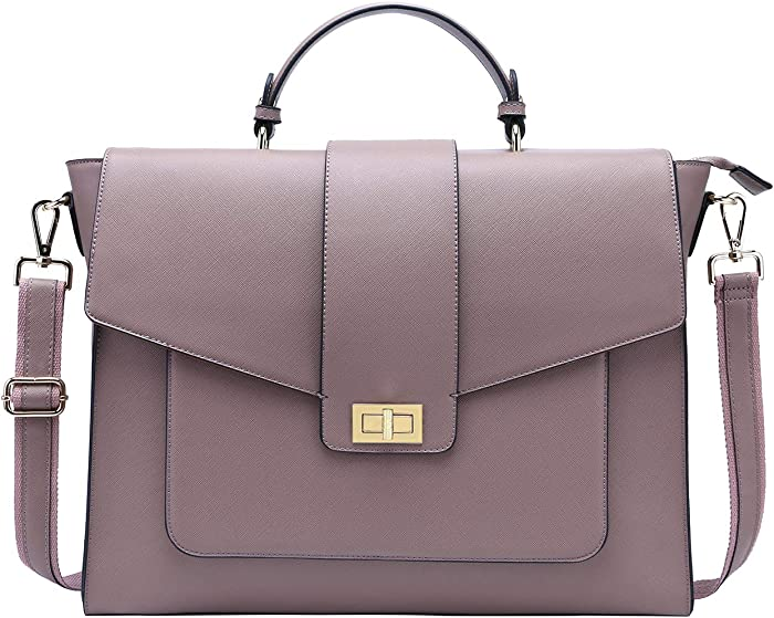 Top 10 Leather Laptop Bags For Women 17 Inch