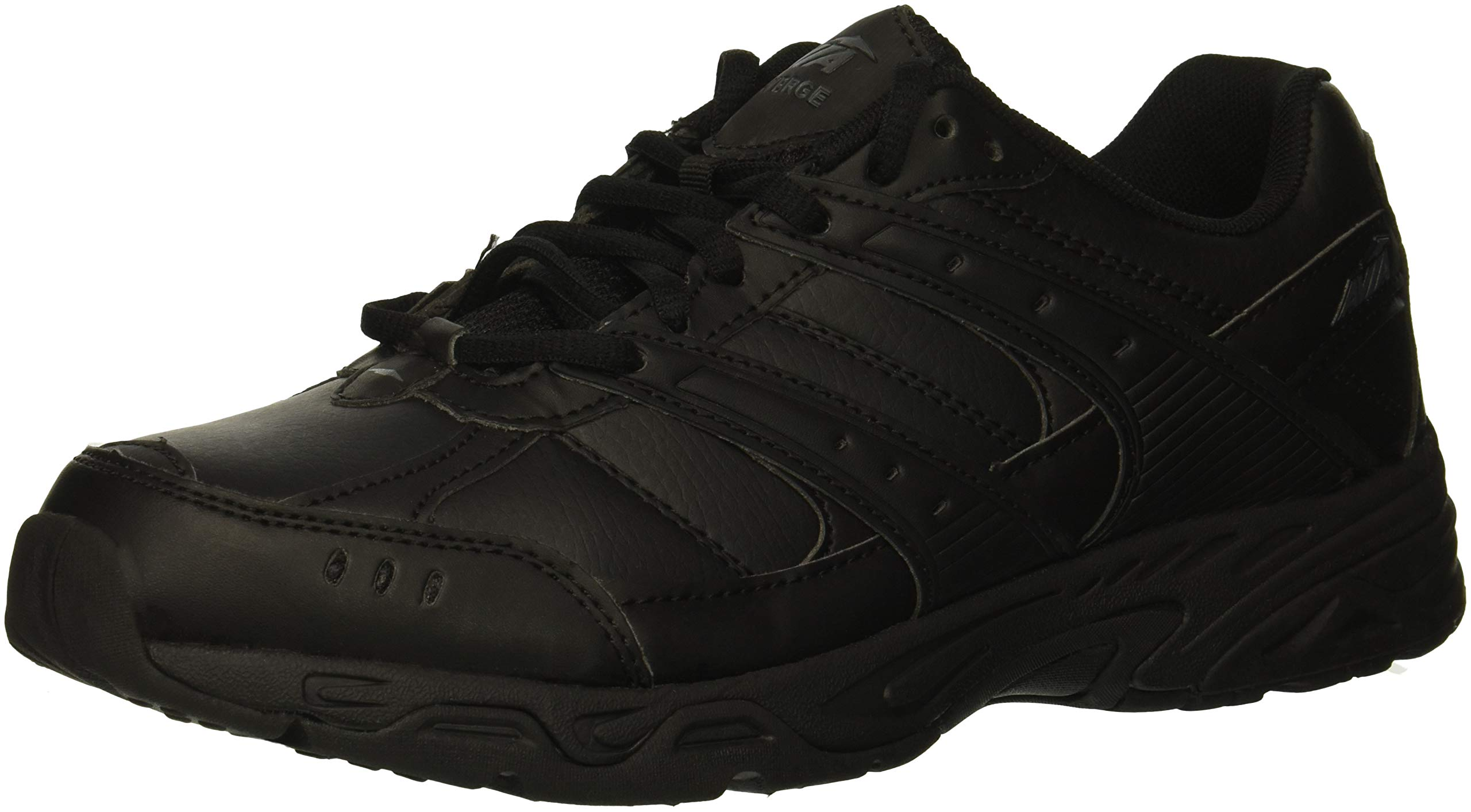 Avia Women's Avi-Verge Sneaker, Jet Black/Castle Rock, 10 Medium US
