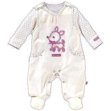 2 tlg Baby Mädchen Strampler Set