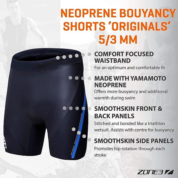 Zone3 Neoprene Buoyancy Kickpants 5//3mm