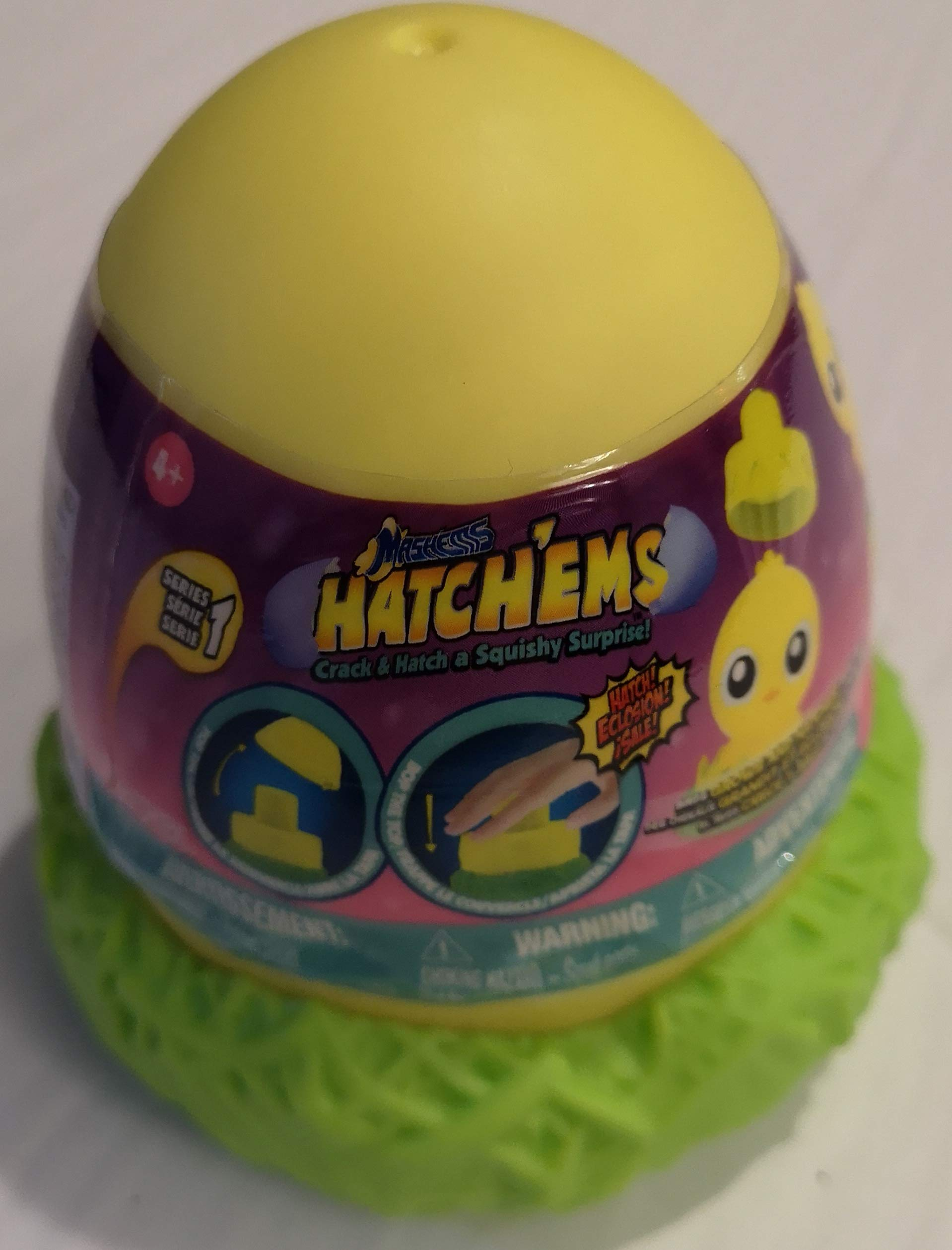 Mashems Hatchems Hatch'ems Mystery Pack (1Pack) (Chicks) by Mashems