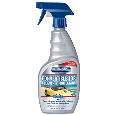 Blue Magic 707 Convertible Top Cleaner with Trigger - 16 fl. oz.: Automotive