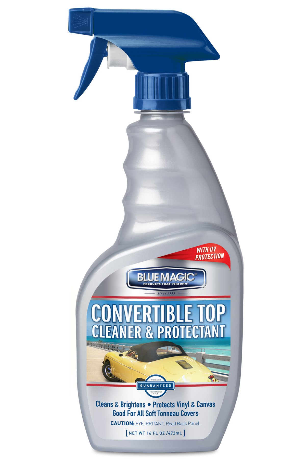 Blue Magic 707-06PK Convertible Top Cleaner - 16 fl. oz, (Pack of 6)