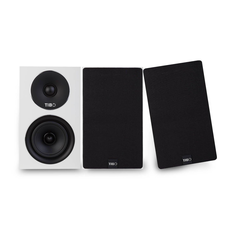 Passive Hi-Fi Bookshelf Speakers Black 150W TIBO Harmony 4