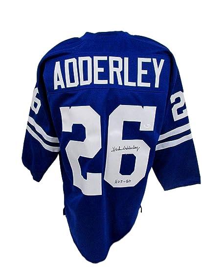 Signed Herb Adderley Jersey - HOF 80 Inscribed P31907 - JSA Certified -  Autographed NFL Jerseys 51a96919f