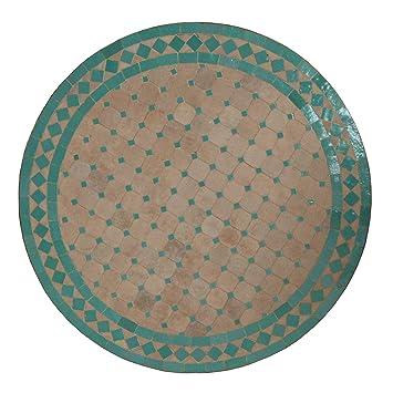 Casa Moro Mediterraner MT2050 Table de Jardin en mosaïque marocain ...