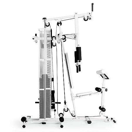 Klarfit Ultimate Gym • estación de Fitness • estación multifunción • Plus de 50 Ejercicios Divers • Estructura Robuste • Cable Flexible •, Cuidado fácil, ...