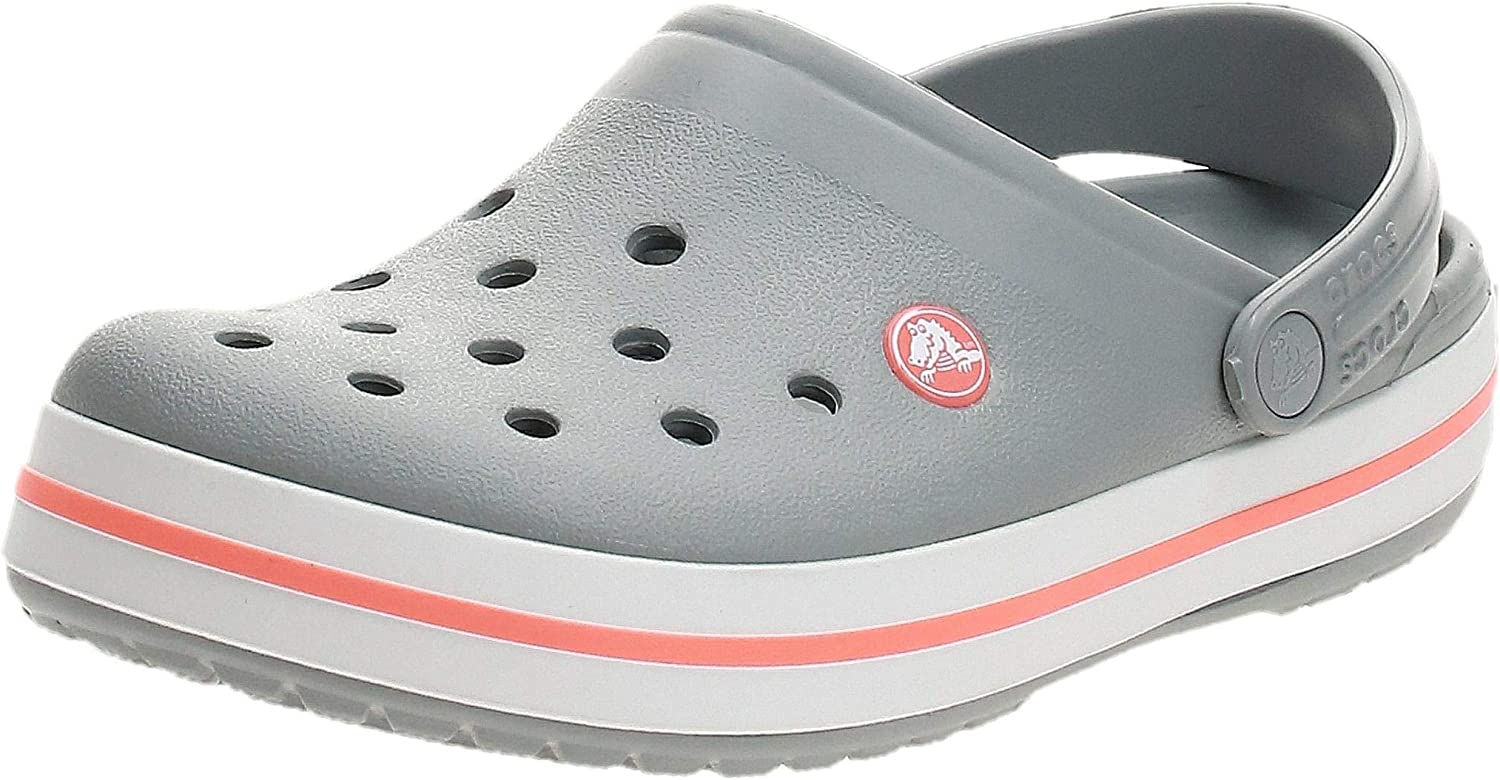 Crocs Men's and Women's Crocband Clog | Slip on Casual Water Shoes Mule