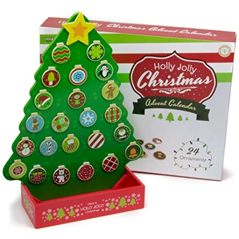 How Many Days Left For Christmas.Amazon Com Deluxe Wooden Magentic Christmas Countdown