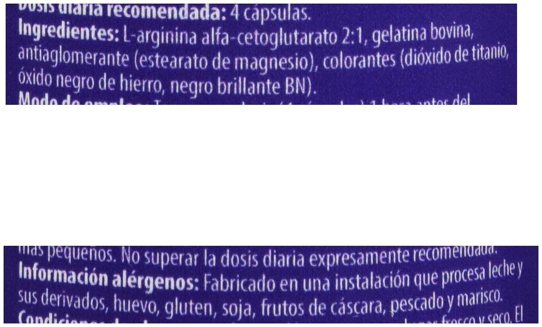 Scitec 0728633103393, Complejo de Aminoácidos de Arginina Alfa-Cetoglutarato, 92.6 gr: Amazon.es: Salud y cuidado personal